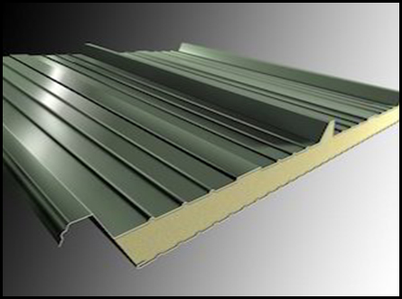 Insulated Roofing Panels इन्सुलेट रुफिंग पॅनेल